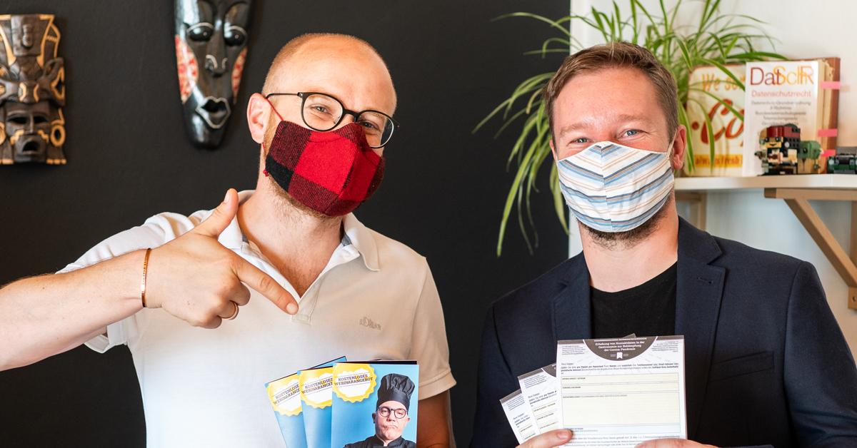 Fabian Scherer Werner Schmid Datenschutzhelden